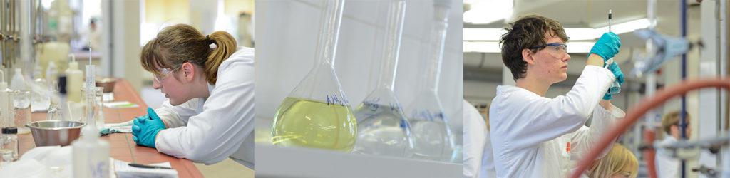 Chemie Verfahrenstechnik und Labor