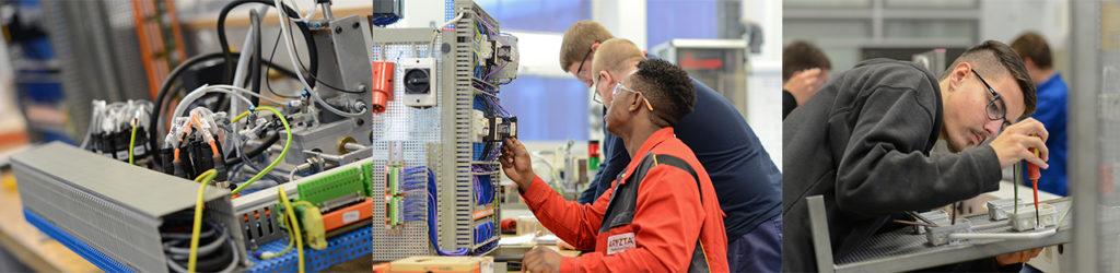 Elektrotechnik und Mechatronik Ausbildung